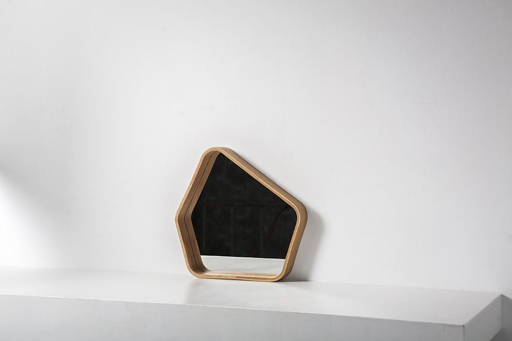 META Pentangle Spiegel | Eiche